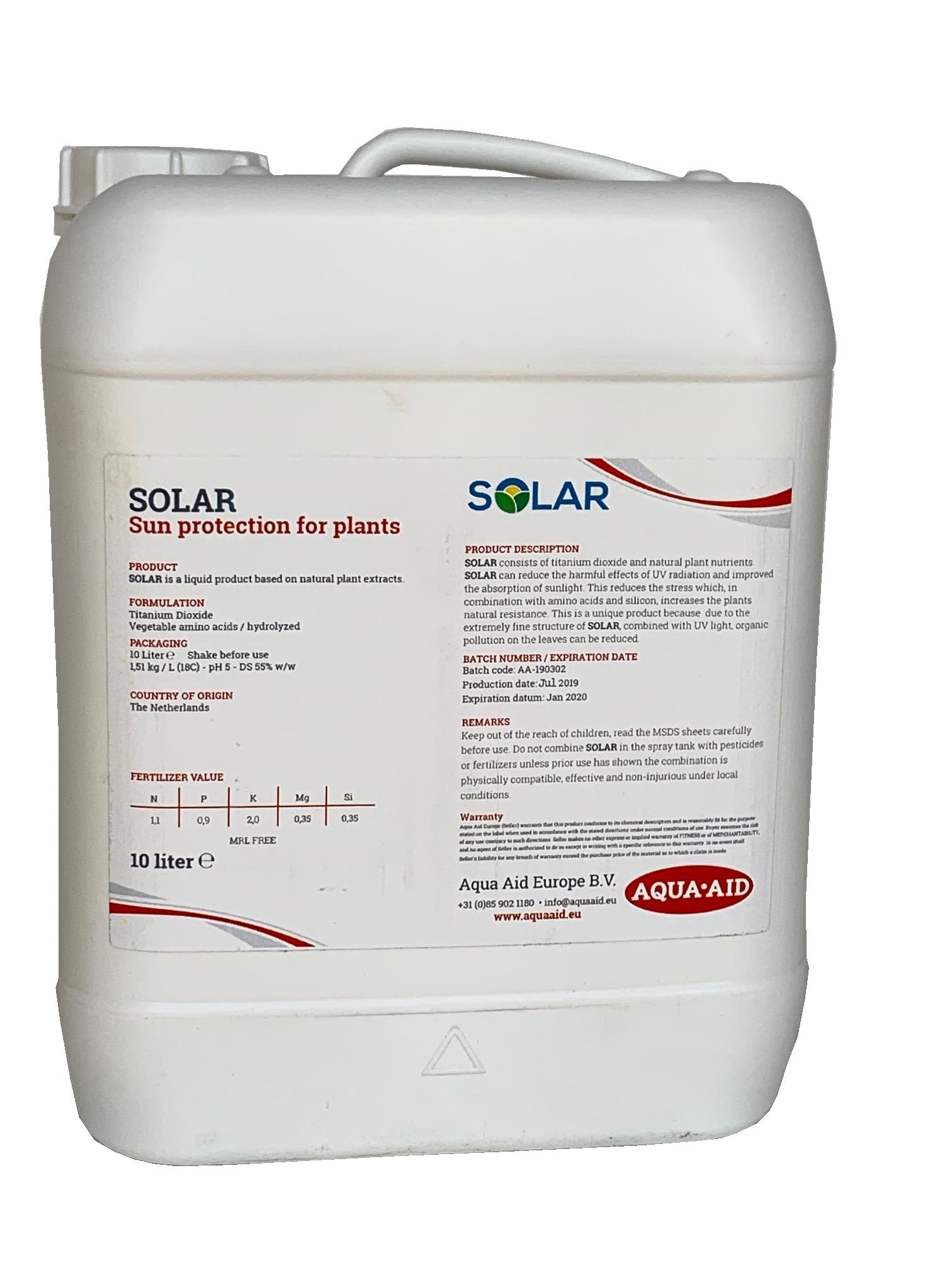 Aqua Aid Solar           (10lt)