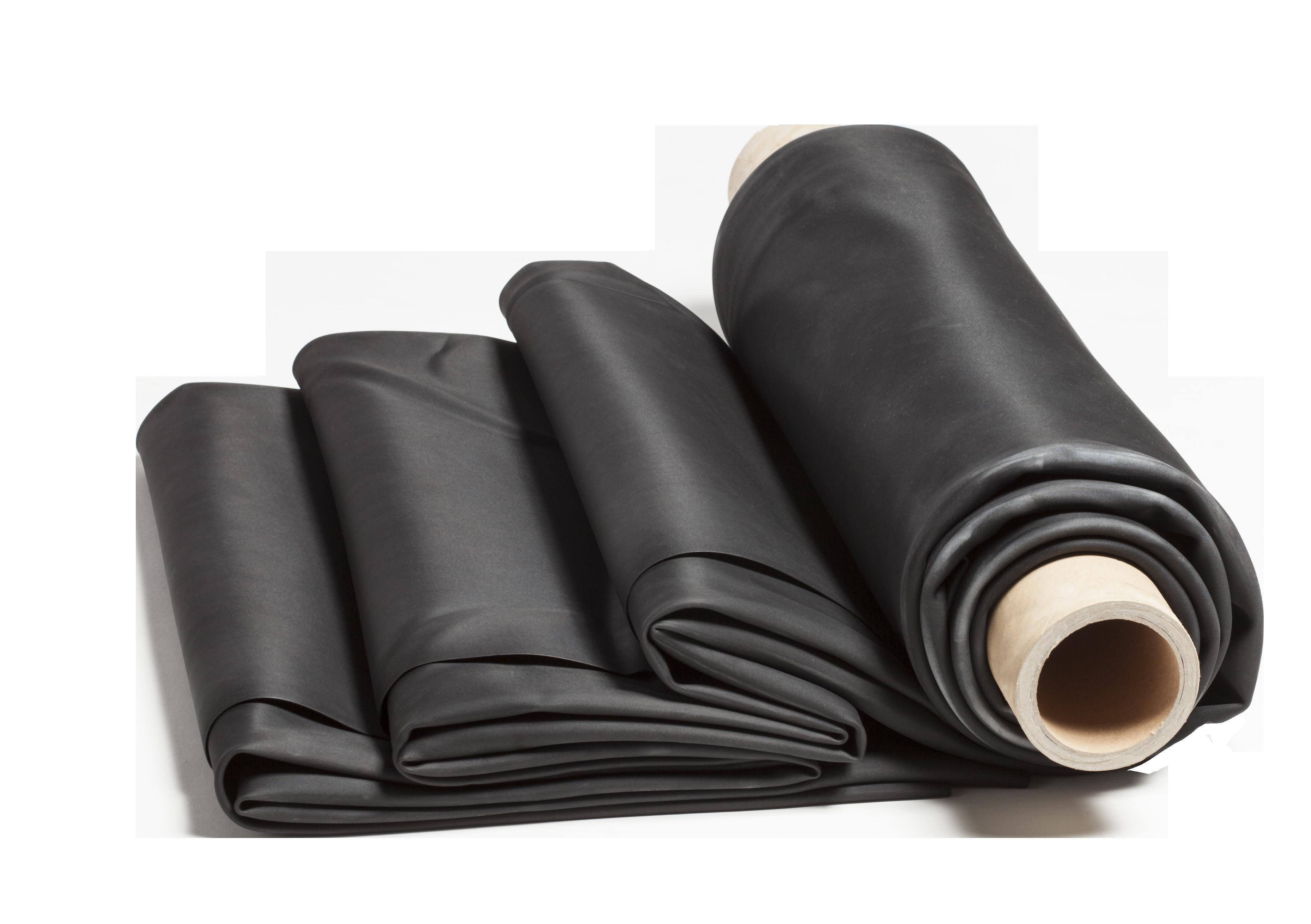 Ecolan rubber folie membraan recht