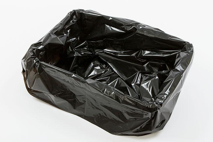 PLT zakken zwart 60x40x0,15 (250ST)