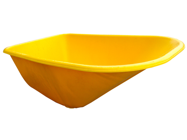 Bak kruiwagen geel SMB-100