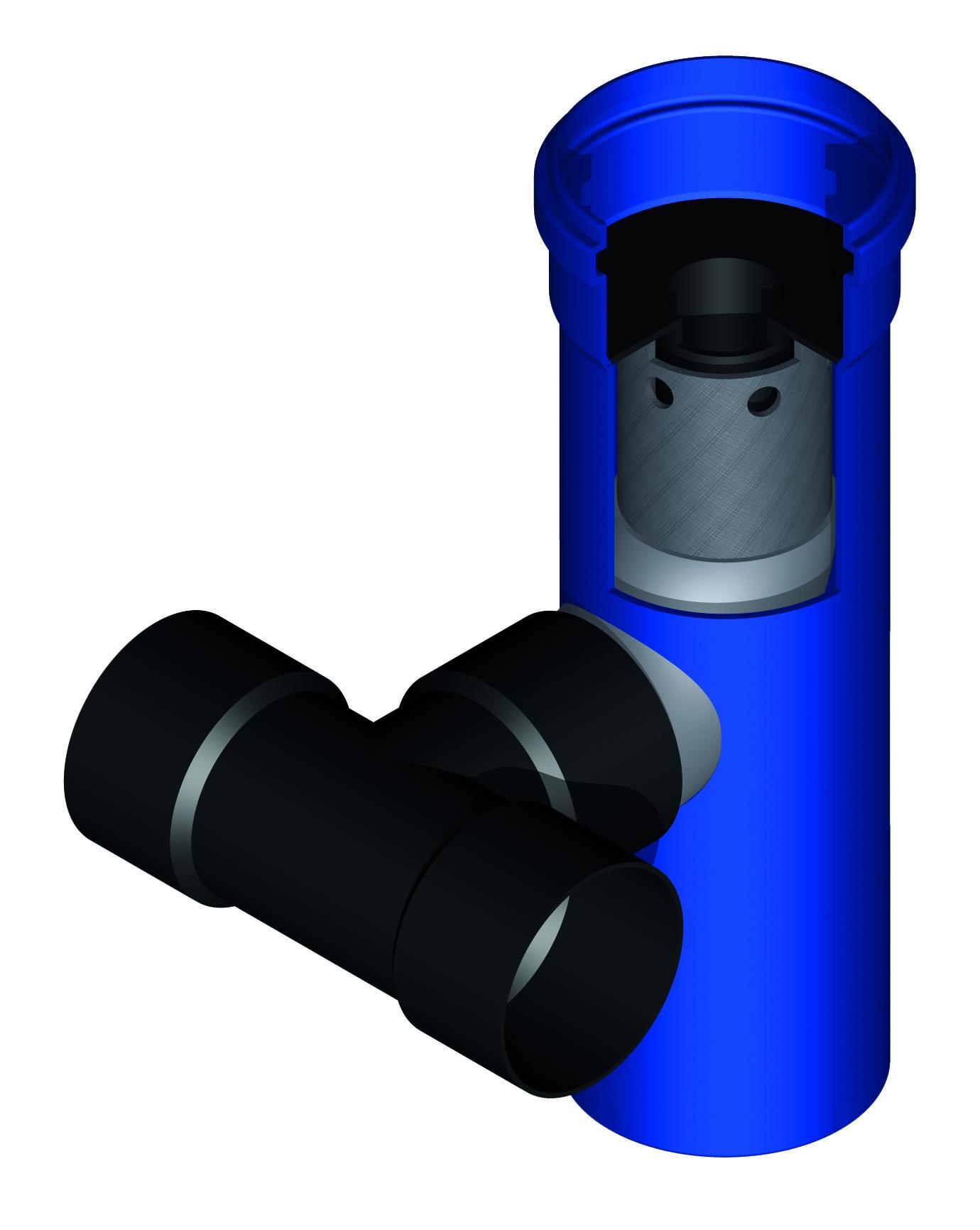 AirMax eindbuis splitter 80 mm