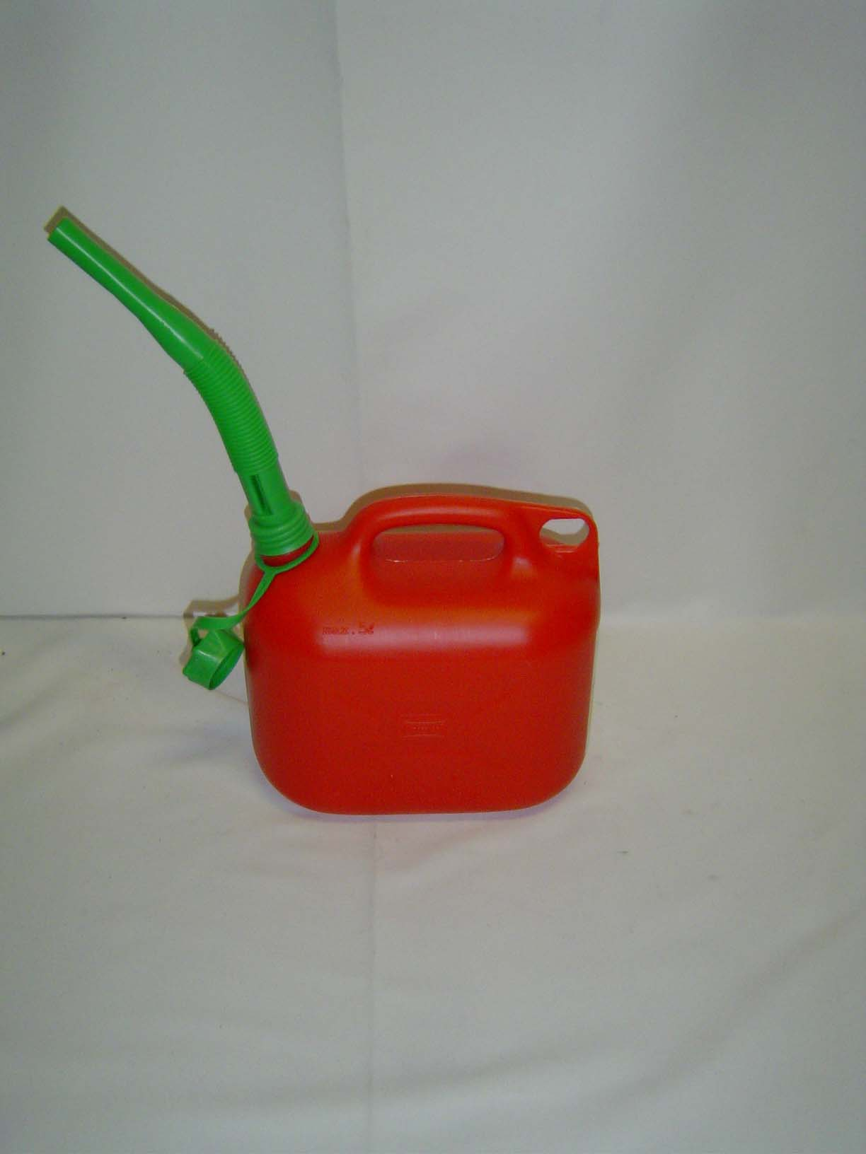 Jerrycan benzine rood