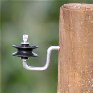 Hoekrol isolator v. koord, draad, h