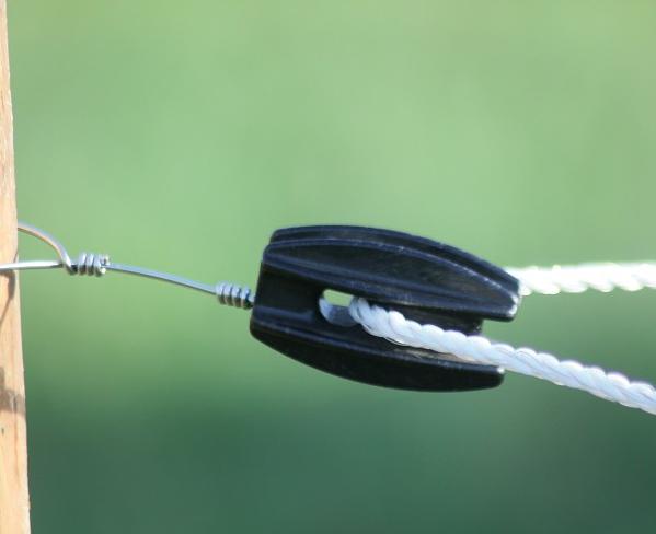 Hoek-isolator ei zonder haak