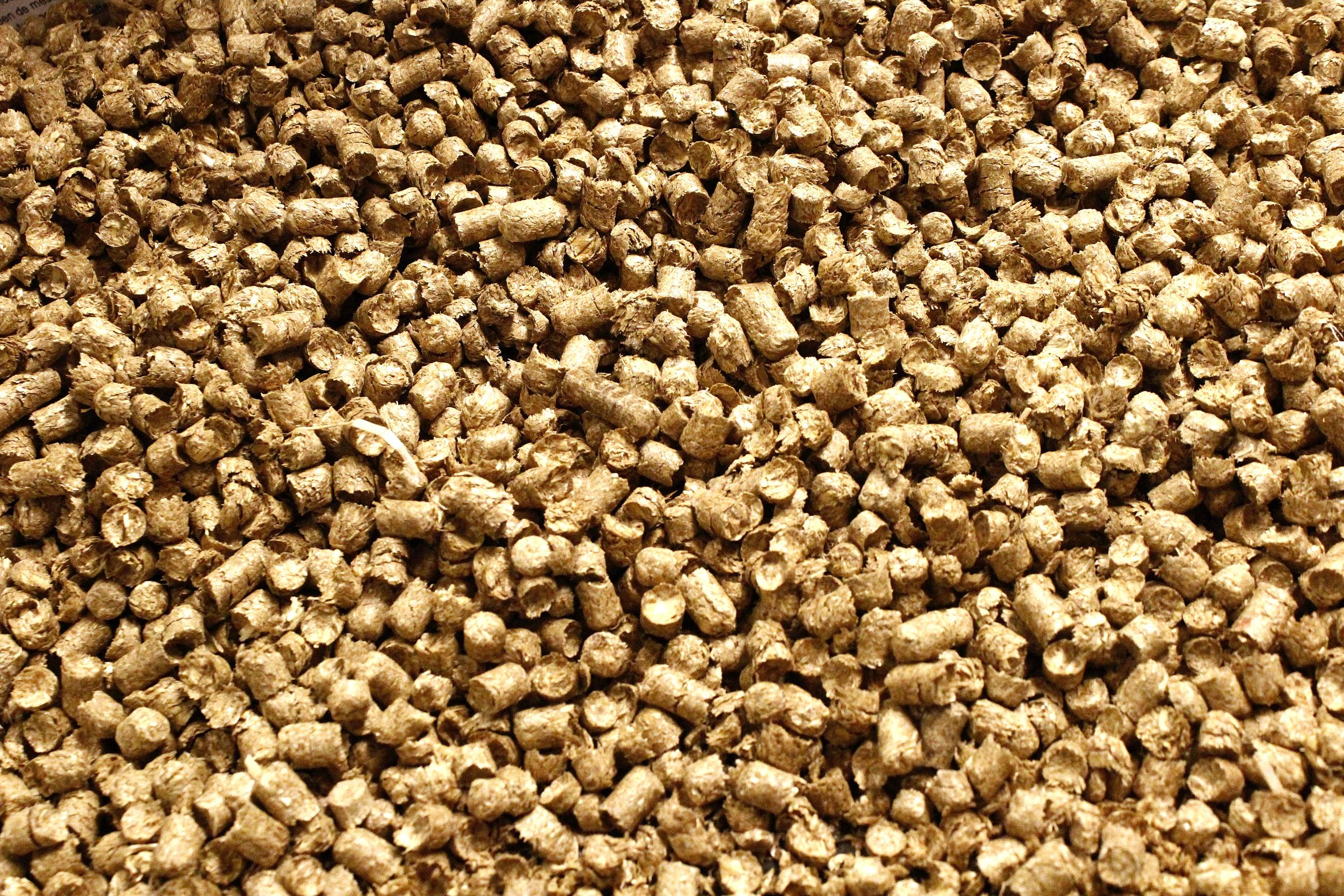 Strovan stropellets in bigbag
