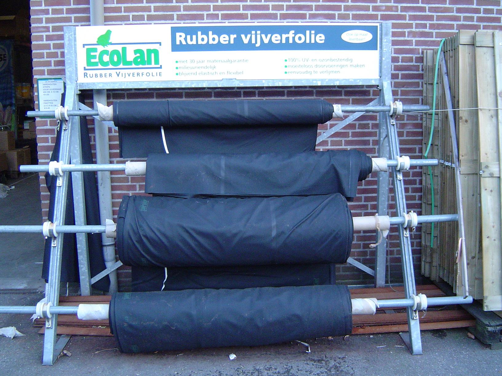 Ecolan folie rubber 0,75mm(m2)