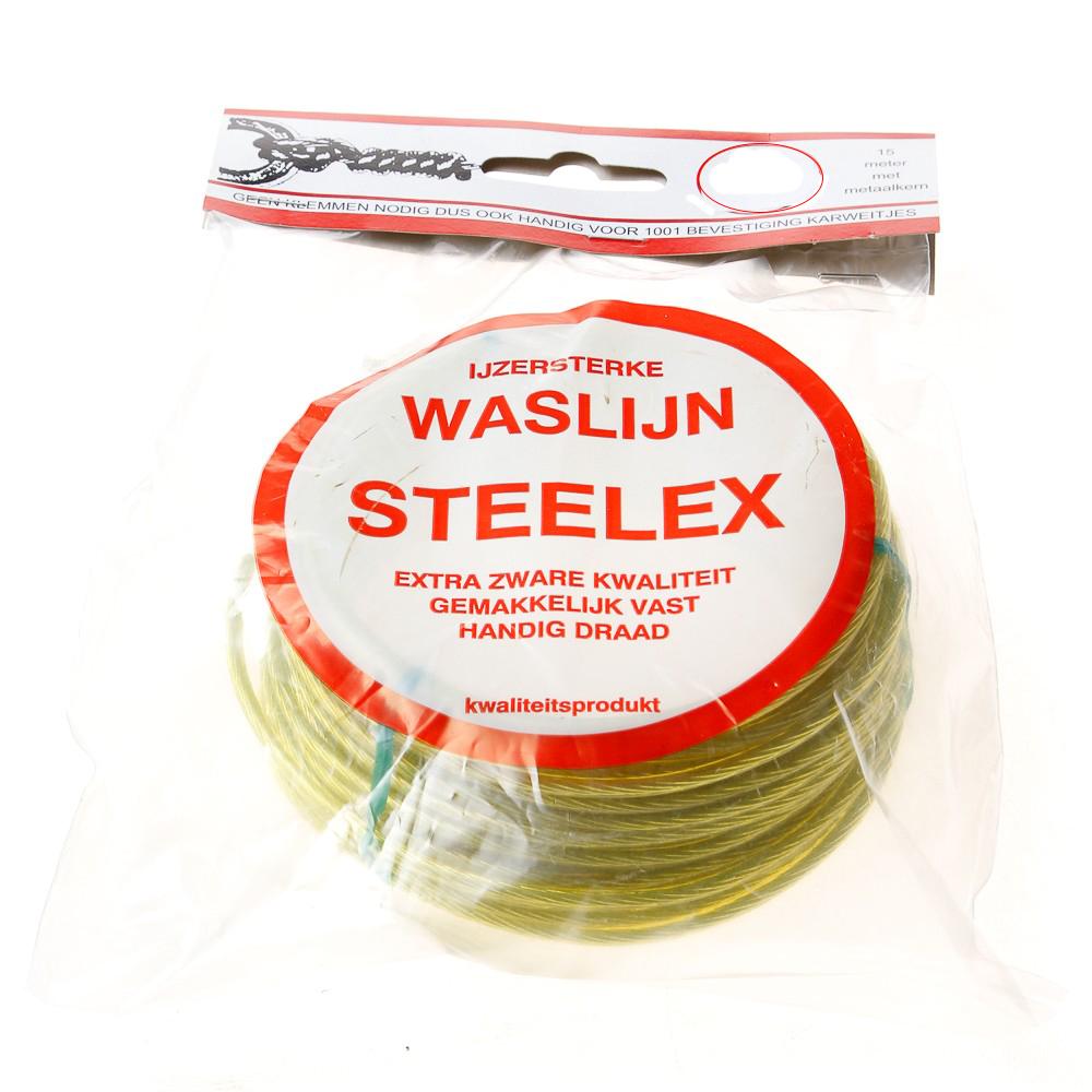 Waslijndraad Steelex