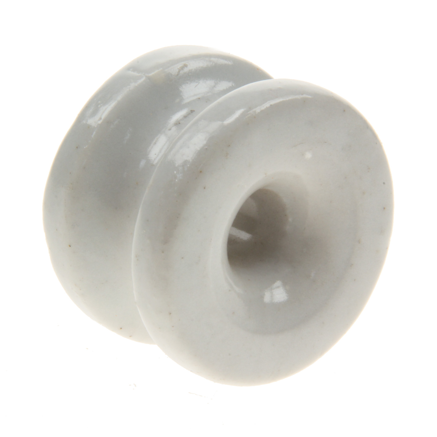 Hoekrol isolator pors. draad, koord