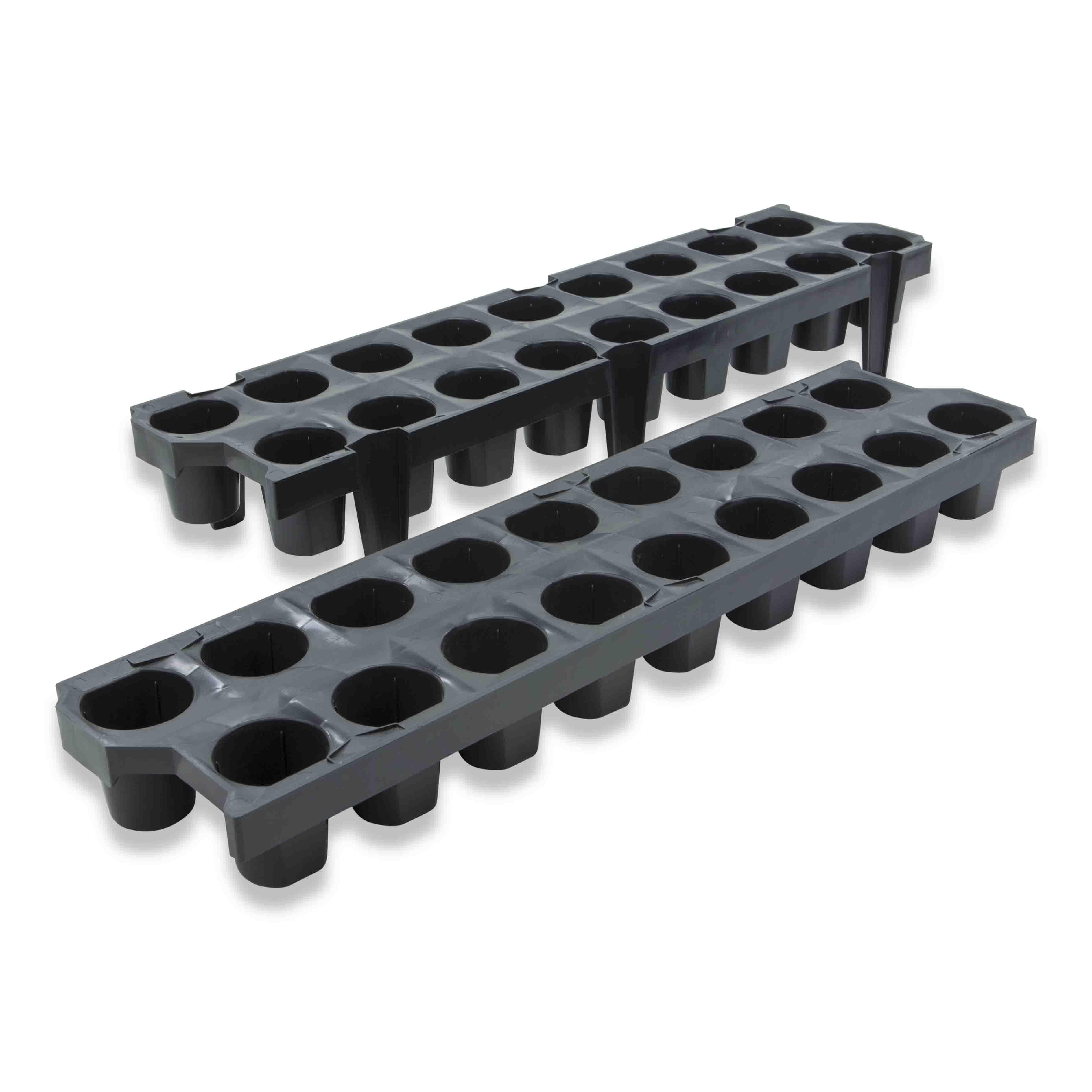 Aardbeitray Bato 18V mini zwart